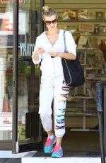 JOANNA KRUPA at a Fed-ex Store in Studio City