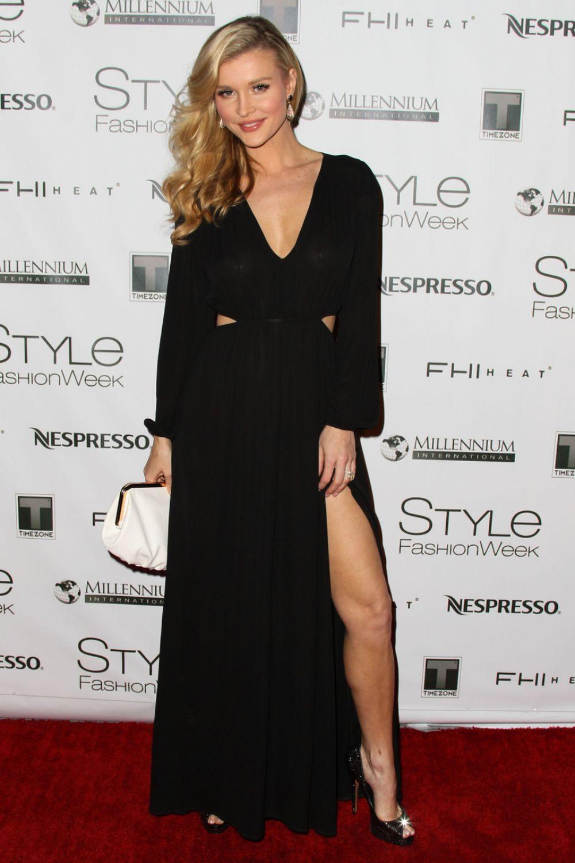 Joanna Krupa At Style Fashion Week In Los Angeles Hawtcelebs