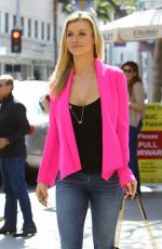 JOANNA KRUPA Out and About in Beverly Hills
