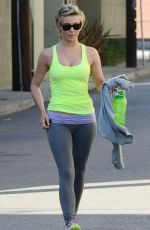 JULIANNA HOUGH in Tank Top Leaves a Gym in Los Angeles