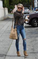 JULIANNE HOUGH Grabbs Some Coffee in Los Angeles