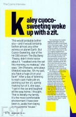 KALEY CUOCO in Cosmopolitan Magazine, May 2014 Issue