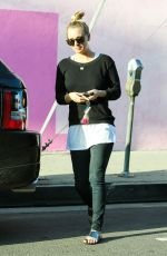 KALEY CUOCO Out and About in Hollywood
