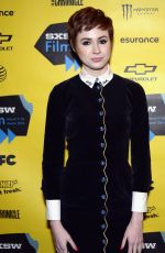 KAREN GILLIAN at Oculus Premiere at 2014 SXSW Festival in Austin