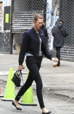 KARLIE KLOSS on Her Way to Milk Studios