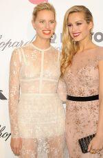 KAROLINA KURKOVA at Elton John Aids Foundation Oscar Party in Los Angeles