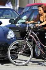 KARREUCHE TRAN Riding a Bike in Venice