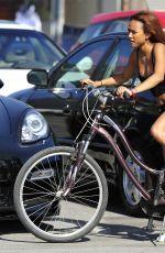 KARREUCHE TRAN Riding a Bike in Venice