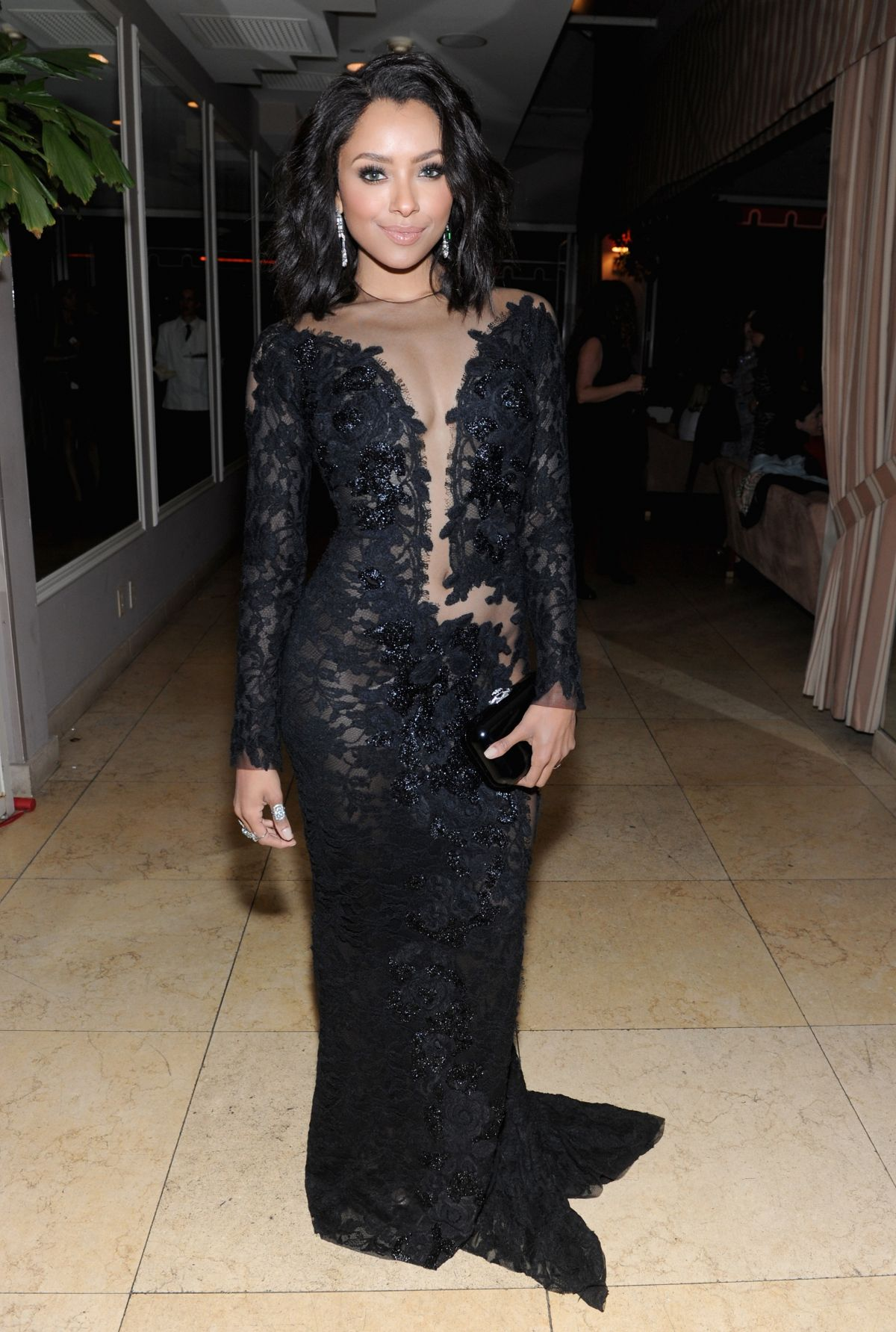 KAT GRAHAM at Grey Goose Pre-oscar Party in West Hollywood