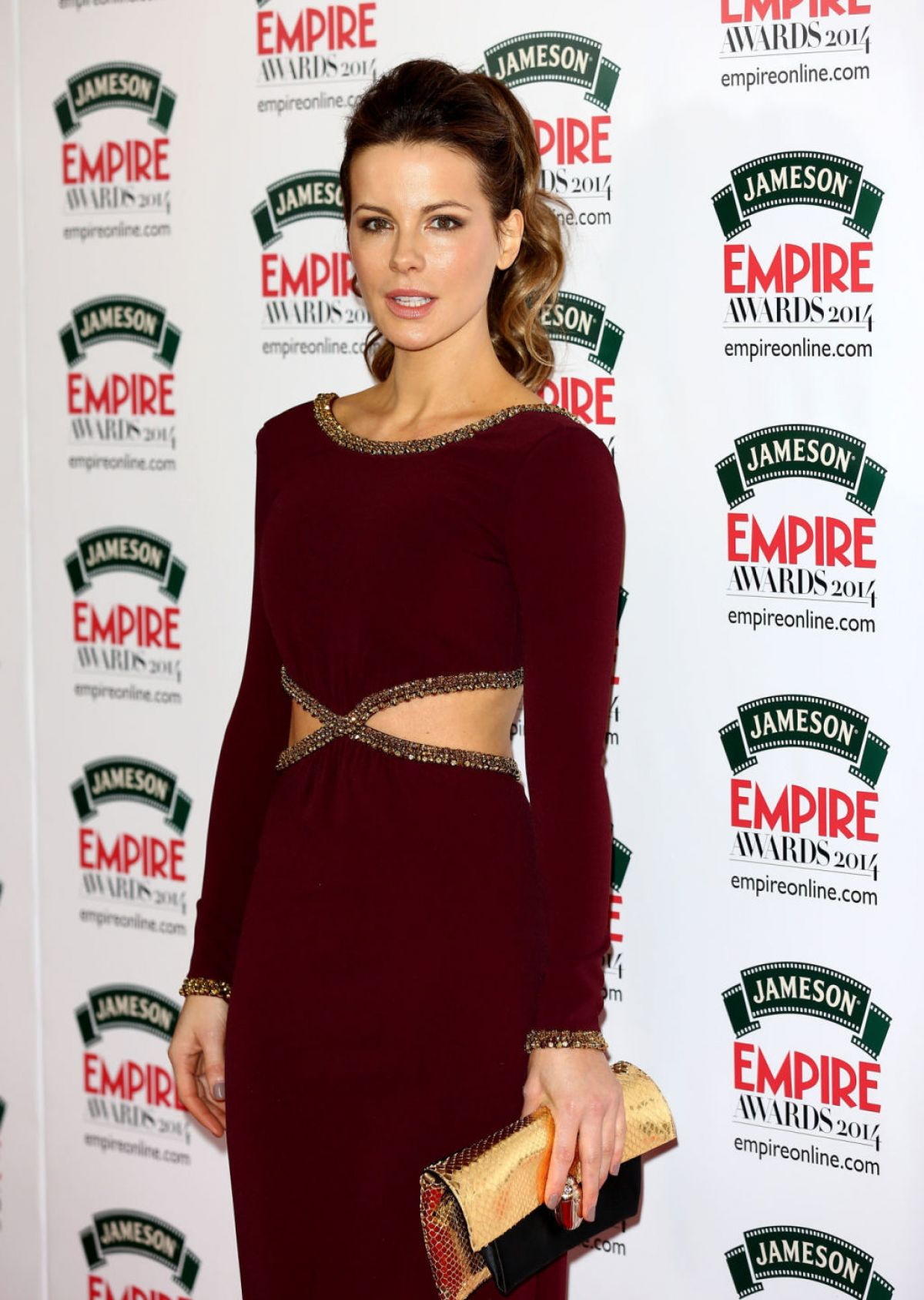 KATE BECKINSALE at Jameson Empire Awards in London