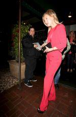 KATE HUDSON leaves Madeo Restaurant in Beverly Hills