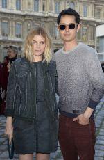 KATE MARA Arrives at Louis Vuitton Fashion Show in Paris