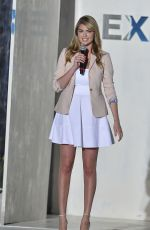 KATE UPTON at Express Fashion Show in Florida