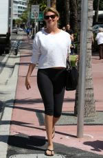 KATE UPTON Out and About in Miami