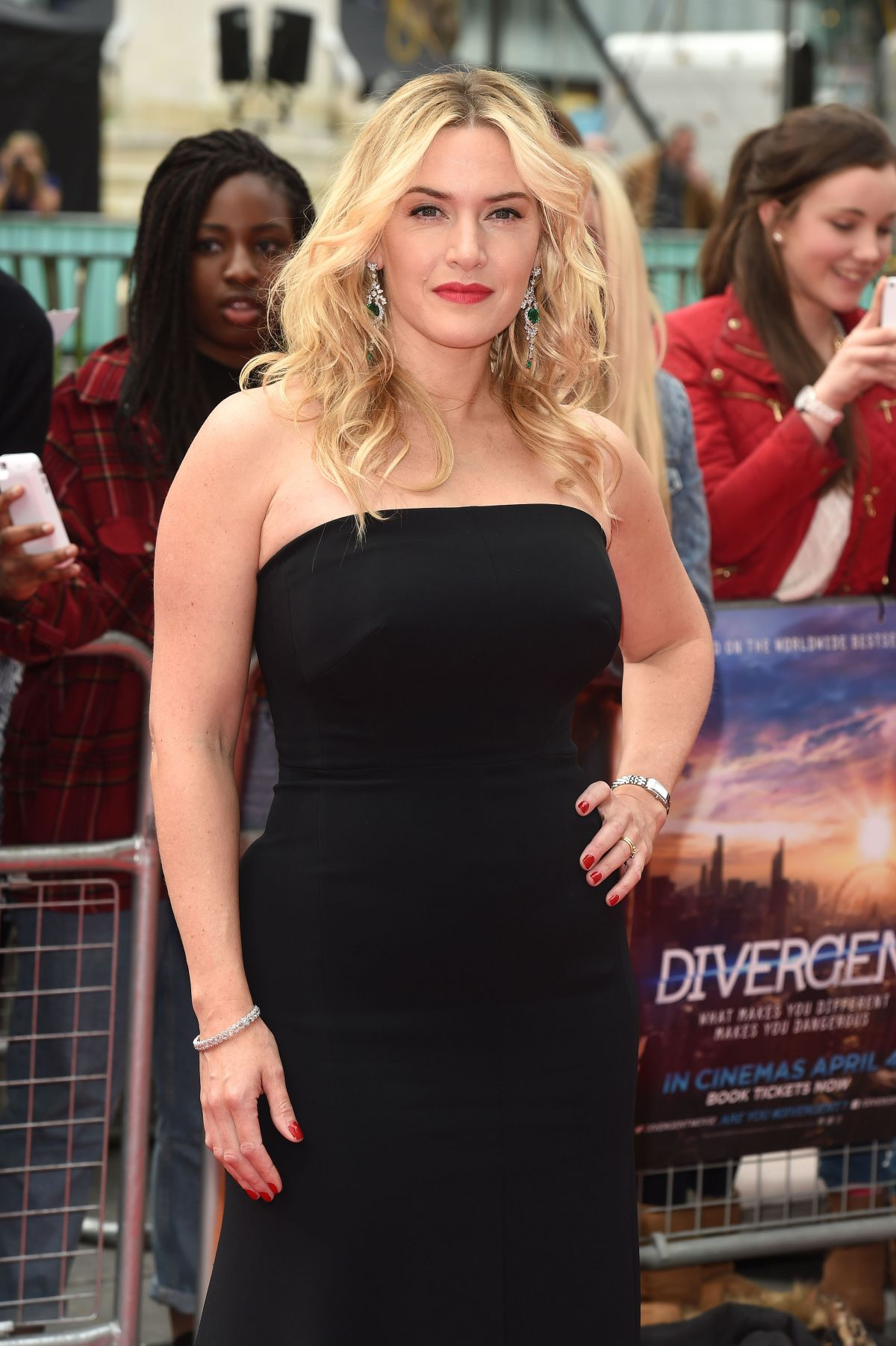 KATE WINSLET at Divergent Premiere in London - HawtCelebs