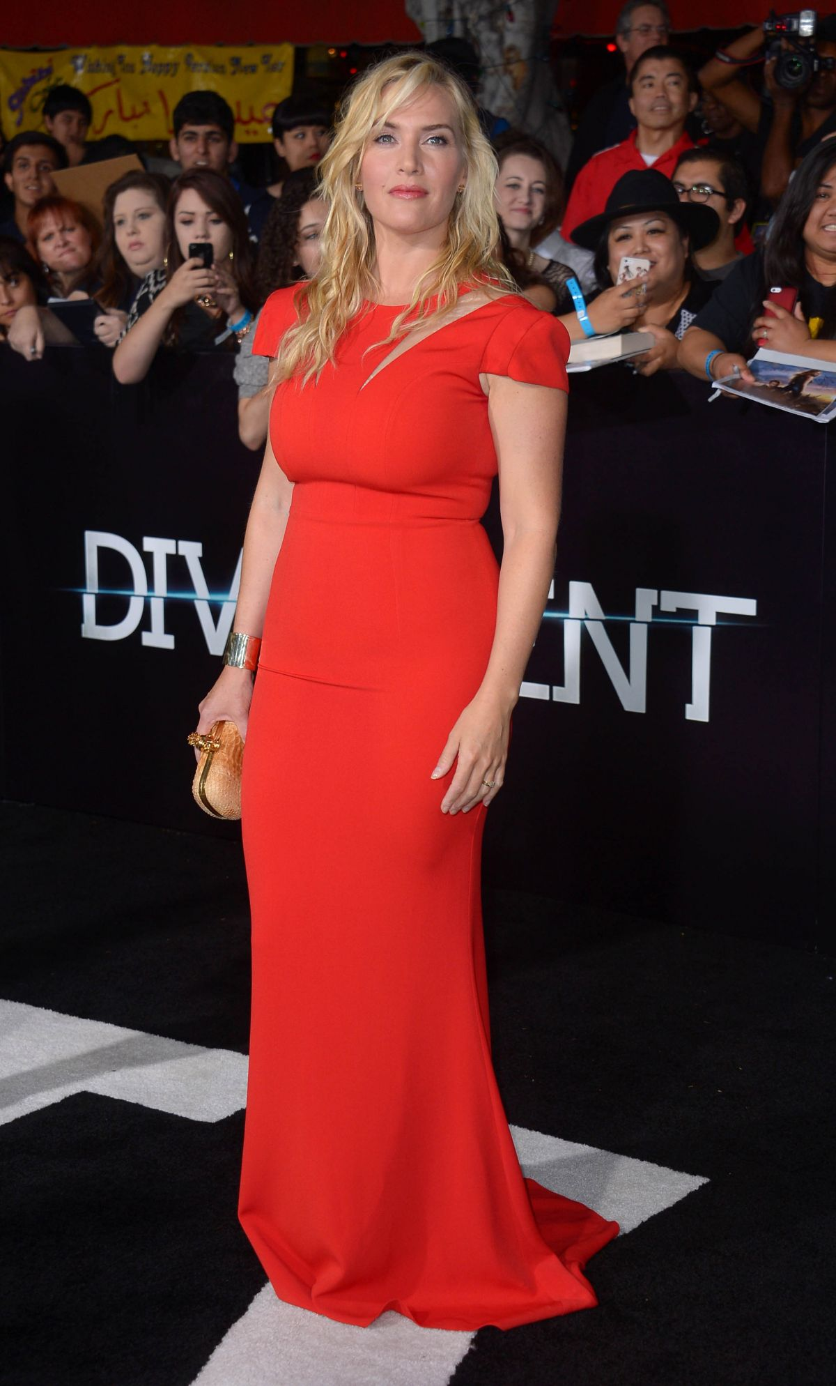 KATE WINSLET at Divergent Premiere in Los Angeles - HawtCelebs