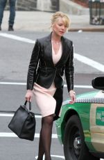 KATHERINE HEIGL on the Set of State of Affairs in New York