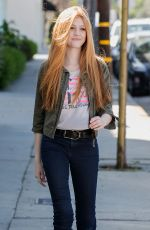 KATHERINE MCNAMARA Out and About in Los Angeles