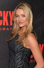 KATRINA BOWDEN at Rocky Broadway Opening Night Afetr Party in New York