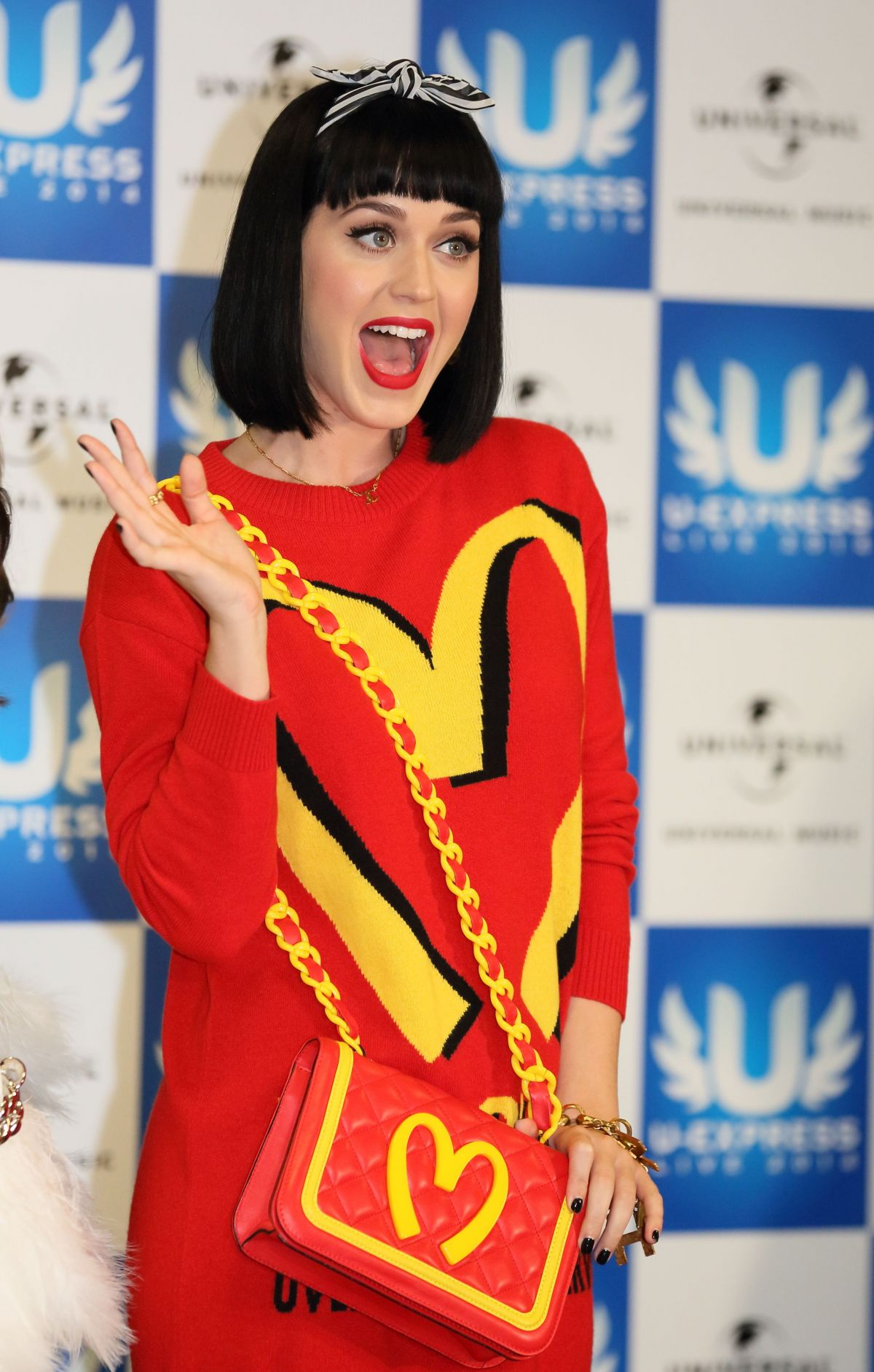 KATY PERRY at U Express Live Press Conference in Japan