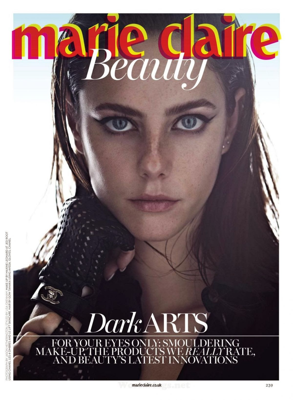 KAYA SCODELARIO in Marie Claire Magazine, April 2014 Issue
