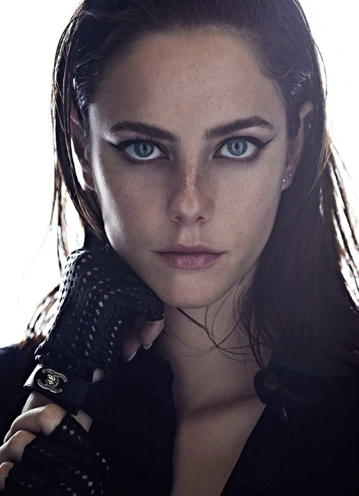 KAYA SCODELARIO in Marie Claire Magazine, April 2014 Issue ...