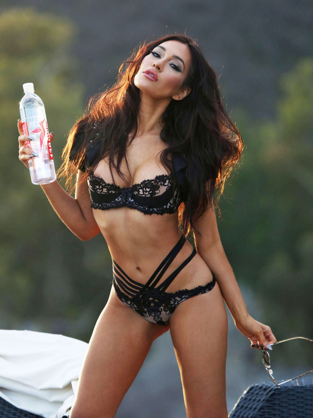 KEA HO in Bikini at 138 Water Photoshoot in Malibu