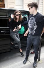 KEIRA KNIGHTLEY Shopping at Chanel Store in Paris