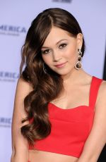 KELLI BERGLUND at Captain America: The Winter Soldier Premiere in Hollywood