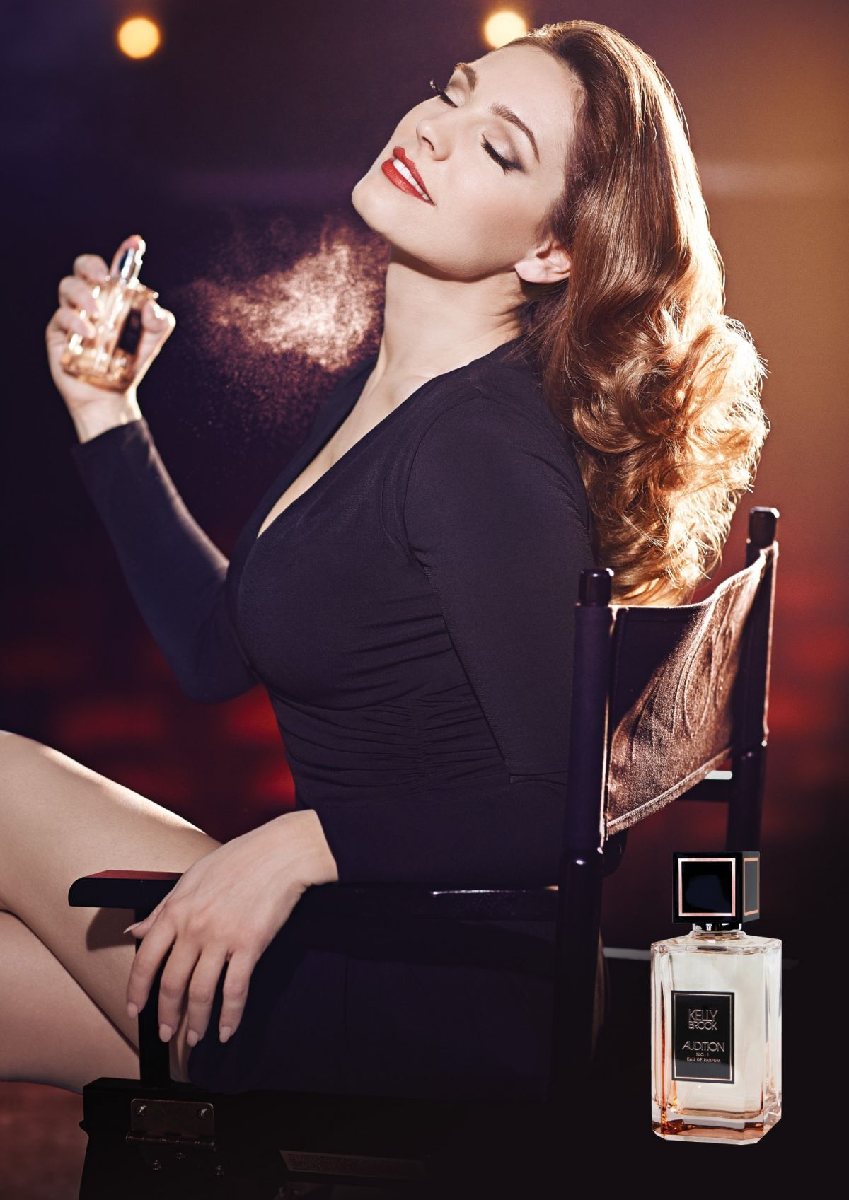 KELLY BROOK - Audition Perfume Promos