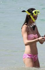 KENDALL and KYLIE JENNER in Bikinis at a Beach in Thailand