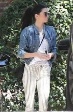 KENDALL JENNER Arrives at a Birthday Party in Beverly Hills