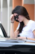 KENDALL JENNER Leaves a Beauty Salon in Calabasas