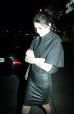KENDALL JENNER Leaves Caviar Kaspia Restaurant in Paris