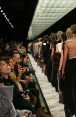 KENDALL JENNER Walks at Givenchy Catwalk Show in Paris