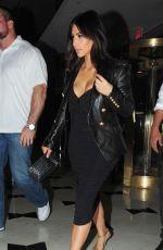 KIM KARDASHIAN Arrives at Miami Airport