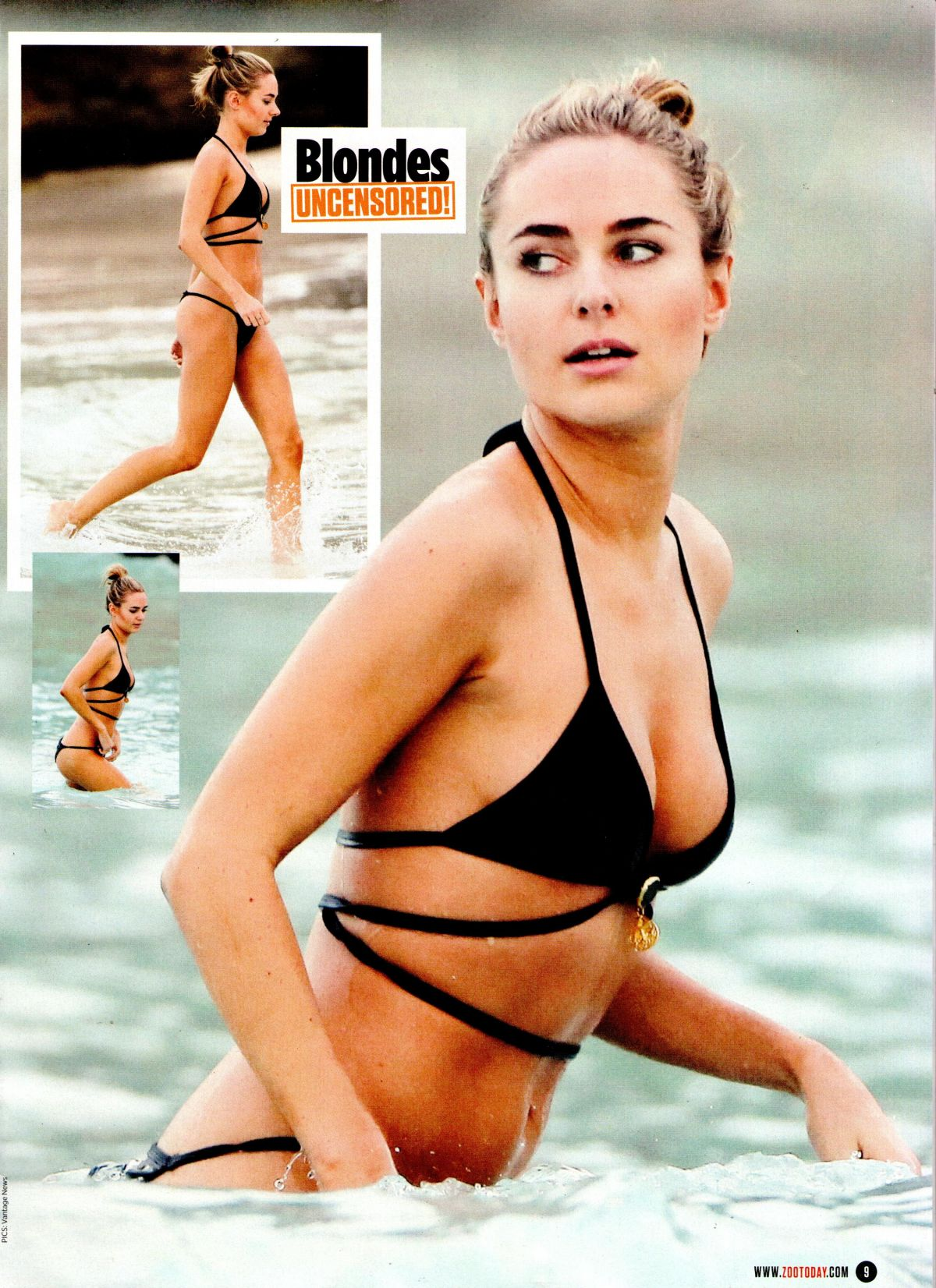 KIMBERLEY GARNER in Zoo Magazine, 14th March 2014 Issue
