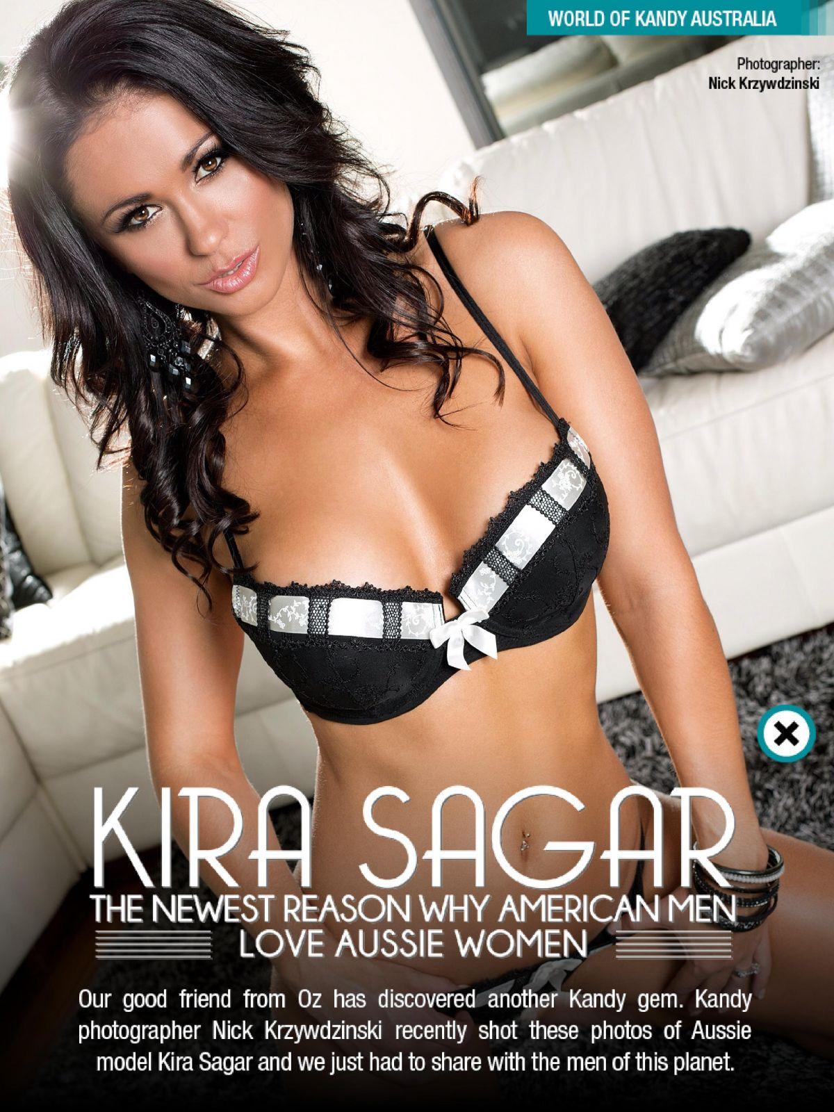 KIRA SAGAR in Kandy Magazine, March 2014 Issue