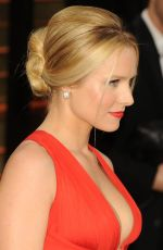 KRISTEN BELL at Vanity Fair Oscar Party in Hollywood