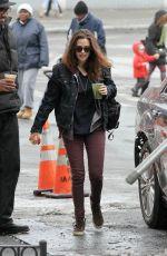 KRISTEN STEWART Arrives at Still Alice Set in New York