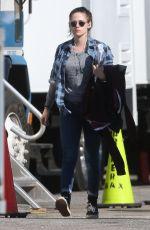 KRISTEN STEWART Arrives on the Set of Still Alice in New York