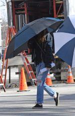 KRISTEN STEWART on the Set od Still Alice in New York