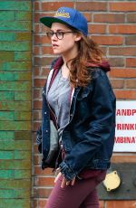 KRISTEN STEWART Out and About in New York 1903