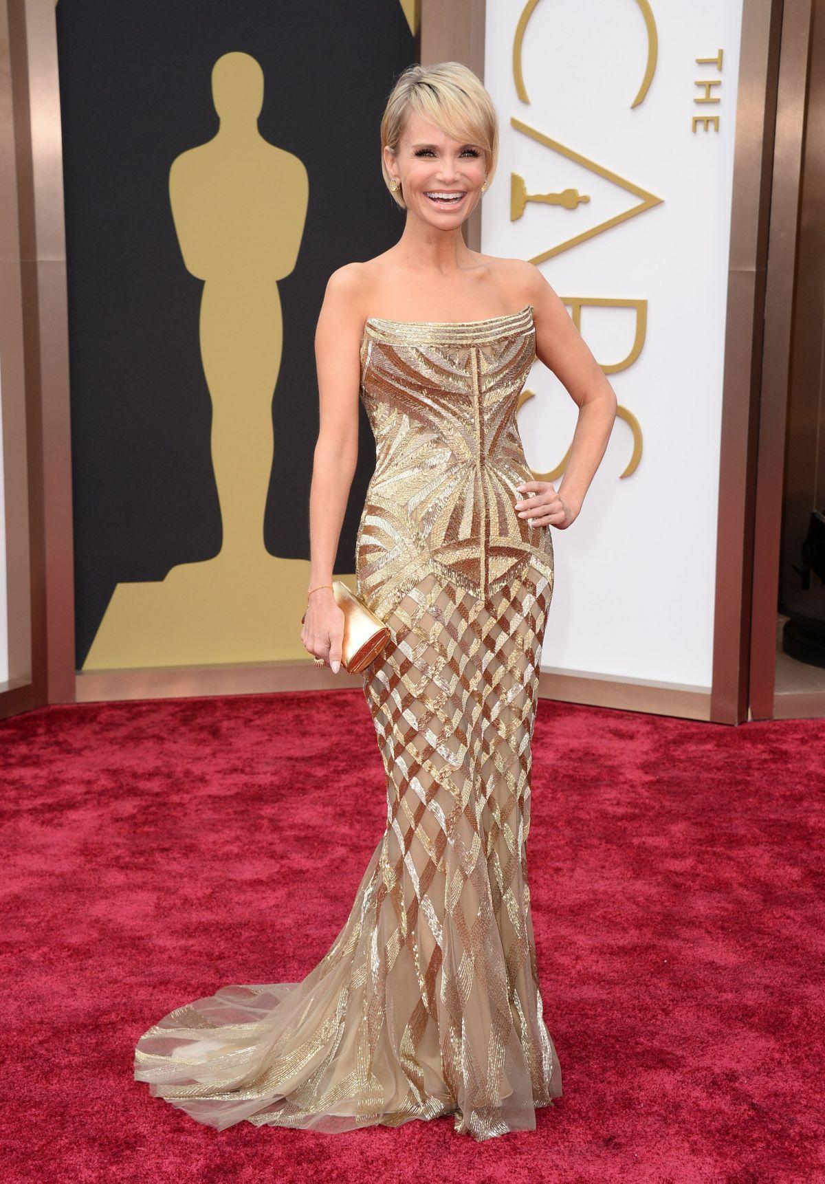KRISTIN CHENOWETH at 86th Annual Academy Awards in Hollywood