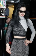 KRYSTEN RITTER Arrives at Wendy Williams Show in New York