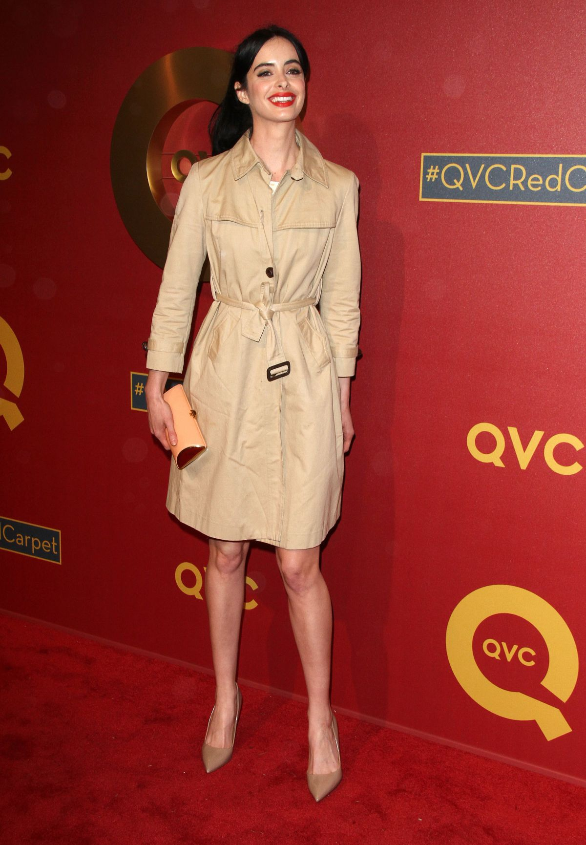 KRYSTEN RITTER at QVC 5th Annual Red Carpet Style Event in Beverly Hills