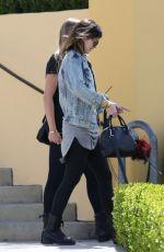 KYLIE JENNER Leaves Sugarfish Restaurant in Los Angeles