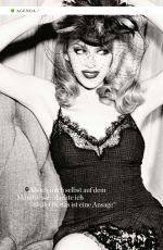 KYLIE MINOGUE in GQ Magazine, April 2014 Issue