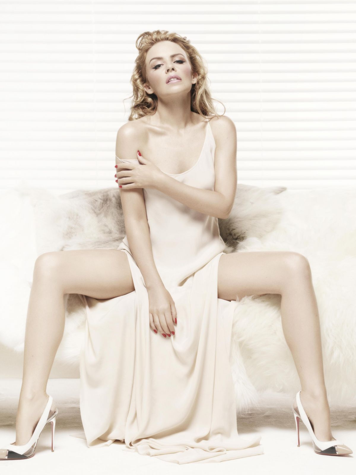 KYLIE MINOGUE in Sunday Times Style Magazine