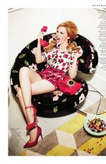 KYLIE MNOGUE in Stylist Magazine, March 2014 Issue
